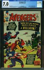 Avengers #15 CGC 7.0 -- 1965 -- Death of Baron Zemo. Black Night #2034890005