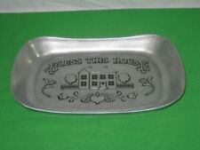 Wilton Armetale Bread Tray Bless This House