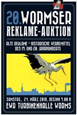 20. Wormser Reklame - Auktion 24. März 2018