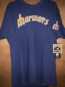 47 Brand Retro Mariners Shirt Size Large