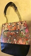 Large Betty Boop Black With Betty Boop Print Hand Bag.new
