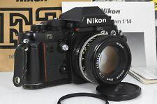 Nikon F3 w/ AI-S 50mm f1.4 AI-S Lens manuals Nice tested