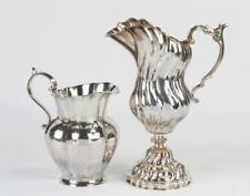 Two Buccellati Sterling Silver Pitchers Lot 99