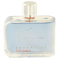 Lacoste Essential Sport by Lacoste 4.2oz/125ml Edt Spray For Men New And Unbox
