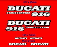 DUCATI 916 retro STICKER AUTOCOLLANT DECAL AUFKLEBER