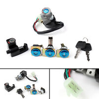 Ignition Switch Fuel Gas Cap Cover Lock Key Set For Honda CN250 Helix 1986-2007