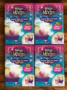 Magic Mixies Magical Mist and Spells Refill Pack for Magic Cauldron LOT OF 4
