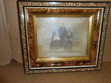 antique picture frame photo 1889 wood
