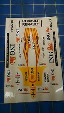 Formula 1 Renault / ING Decals from Mid America Naperville