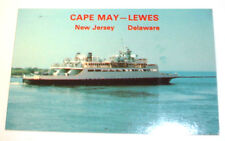 Cape May NJ Lewes Delaware New Jersey Ferry Boat  with Crazy Horse Stamp