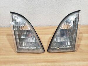 1987 1988 87 88 Ford Thunderbird Inner Parking Lights Pair Lx Sport 5.0 3.8 Base