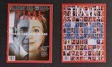 Time Magazine x 20 Issues 2007 2008 Vintage News Current Affairs Obama Politics