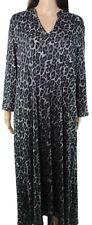 Natori Womens Sleepwear Classic Black Size Medium M Gowns Leopard $68 003