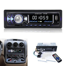 Autoradio Stereo MP3 Player FM Radio in-dash HeadUnit Tuner Bluetooth USB/SD/AUX
