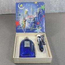 EVENING IN PARIS BOURJIOS special box cologne & perfume empty blue bottles ʱ r2