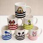 6x Disney Tassen Micky Minnie Daisy Donald Pluto Goofy Weihnachten mit Freunden