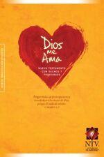 Dios me Ama NUEVA TESTAMENTO CON SALMOS Y PROVERBI