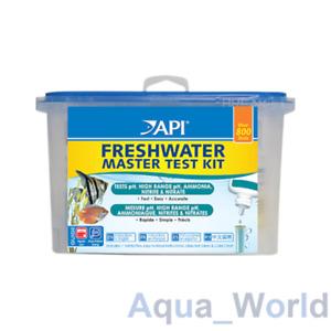 API Freshwater Master Test Kit  Aquarium Fish Tank pH Ammonia Nitrite Nitrate