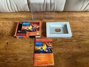 Original SNES Super Nintendo Game Box/Manual Clay Fighter 2 Judgment Clay
