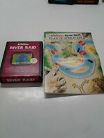 River Raid (Atari 2600, 1982) By Activision (Cartridge & Manual) NTSC