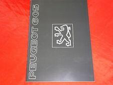 PEUGEOT 605 SRi SR 3.0 SR Diesel Turbo SV 3.0 SV Diesel SV 24 Prospekt von 1990