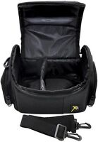 Deluxe Digital Photo/Video Camera Camcorder Padded Carrying Case