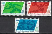 Berlin 1980 Mi 621-623 Sc B168-170 MNH sport Water polo Javelin Weightlifting **