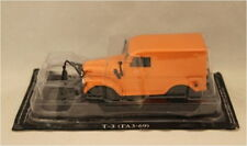 Russian Models,CX 4245  Russian Gaz T-3 Snowplough Orange 1/43 Scale New in Box
