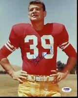 Hugh Mcelhenny Hof Signed Psa/dna  8x10 Photo Autograph Authentic