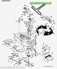 """JONSERED Cutter Cintura adatta lt17a lt2117a lt2118a lt2122 a2 Deck 42"""" 583099801"""