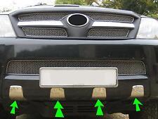 "Chrome front bumper ""teeth"" for Toyota Hilux Mk6 Vigo Invincible accessories new"