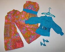 Vintage Barbie Mod Mood Matchers Complete Outfit #1792 HTF Belt & Shoes 1970