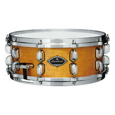 "Tama Starclassic Birch/Bubinga 14"" Dia. X 6.5"" Deep Snare Drum/Honey Amber Gold"