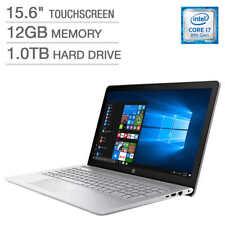 "New HP 15T QuadCore i7-8550U 4GHz 15.6""FHD IPS TouchScreen 12GB DR4 1TB W10H 1Yr"