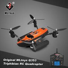 WLtoys Q353 Triphibian 2.4G 6-Axis Gyro RC Quadcopter Headless Mode Drone T3Z3