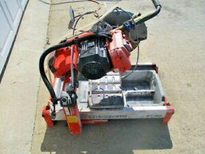 HUSQVARNA MS 360, brick and block masonry saw, 220 volts