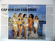 COUPURE DE PRESSE-CLIPPING : CROISIERE DES MISS FRANCE [4pages] 01/2016