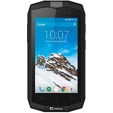Téléphones mobiles étanches noirs avec android
