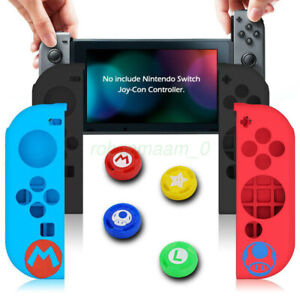 Joystick Caps Silicone Case Skin Protector Cover Accessories For Nintendo Switch