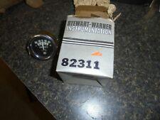 """STEWART-WARNER 82311 AMMETER GAUGE 2"""" BLACK  (GAUGE ONLY 1932 ford chevrolet"""