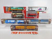 CA304-1# 7x Herpa 1:87/H0 LKW: Magirus+Iveco+US-Truck+Scania+DAF+Renault, OVP