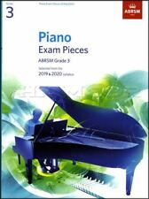ABRSM Piano Exam Pieces 2019 2020 Syllabus Grade 3 Sheet Music Book Tests Songs