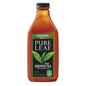 Pure Leaf Unsweetened Tea 64 oz Bottle