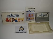 75-22 SUPER NINTENDO SNES FAMICOM SFC FINAL FANTASY IV JAPAN