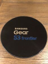 Samsung Galaxy Gear S3 frontier 46mm Stainless Steel Case Black Sport Band - (SM