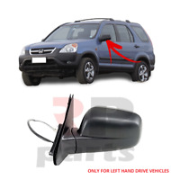 FOR HONDA CR-V 2002-2006 NEW WING MIRROR ELECTRIC BLACK LEFT LHD 76250S9AK01