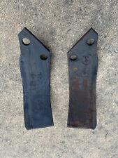 Bush Hog RTM tiller tines OEM part# 65764 & 65765 sold in pairs -1 left, 1 right