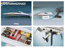 Aquacraft Minimono Motoscafo 2.4 GHz Tactic RTR Aqub1806