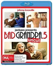 Jackass Presents Bad Grandpa .5 2014 Johnny Knoxville Blu-ray