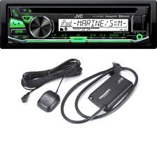 JVC KD-R97MBS SINGLE-DIN Bluetooth In-Dash CD/AM/FM Car Stereo SiriusXM SXV300v1